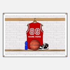 Personalized Basketball Jerse Banner