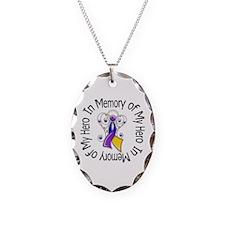 In Memory - Bladder Cancer Necklace
