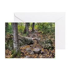 Rocky Trail Greeting Card