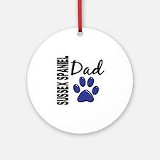 Sussex Spaniel Dad 2 Ornament (Round)