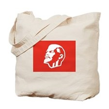 Leninist Flag Tote Bag