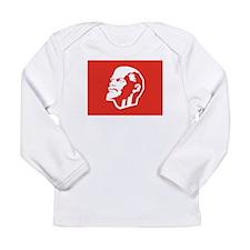 Leninist Flag Long Sleeve Infant T-Shirt