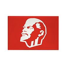 Leninist Flag Rectangle Magnet