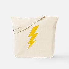 Yellow Thunderbolt Tote Bag
