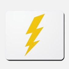 Yellow Thunderbolt Mousepad