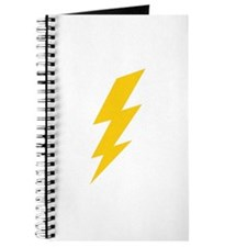 Yellow Thunderbolt Journal