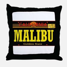 Malibu -- T-Shirt Throw Pillow