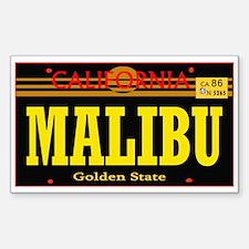 Malibu -- T-Shirt Decal