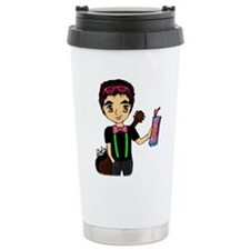 Cute Curly Travel Mug