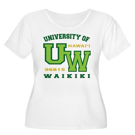 University of Waikiki-Women Plus Scoop Neck Shirt