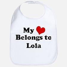 My Heart: Lola Bib