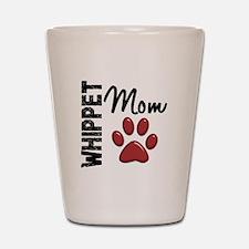 Whippet Mom 2 Shot Glass