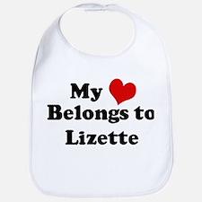 My Heart: Lizette Bib