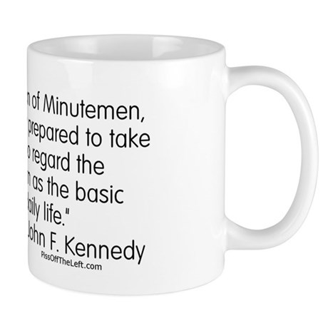 Kennedy: Nation of Minutemen Mug