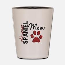 Welsh Springer Spaniel Mom 2 Shot Glass