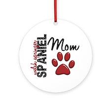 Welsh Springer Spaniel Mom 2 Ornament (Round)