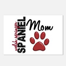 Welsh Springer Spaniel Mom 2 Postcards (Package of
