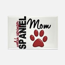 Welsh Springer Spaniel Mom 2 Rectangle Magnet (100