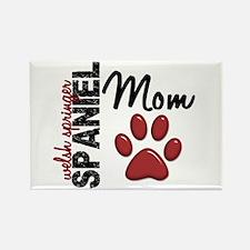 Welsh Springer Spaniel Mom 2 Rectangle Magnet (10