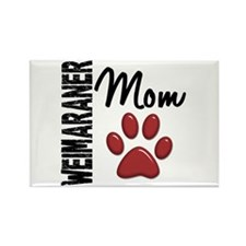 Weimaraner Mom 2 Rectangle Magnet