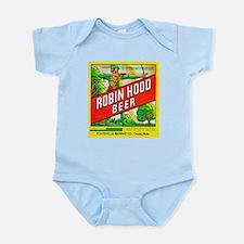Nebraska Beer Label 5 Infant Bodysuit