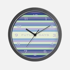 Future Days Wall Clock