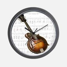 Mandolin and Sweet Music Wall Clock