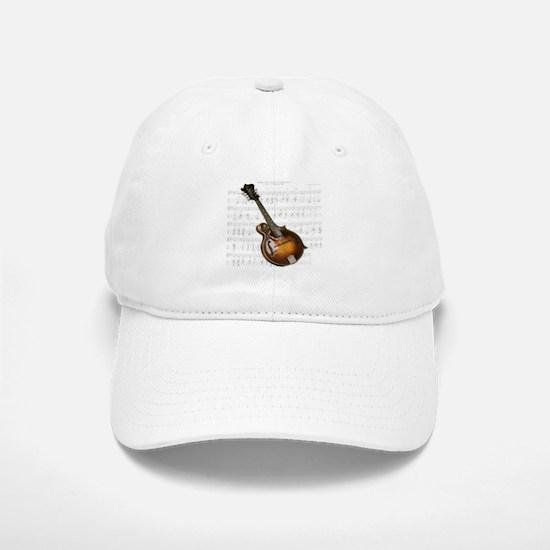 Mandolin and Sweet Music Baseball Baseball Cap