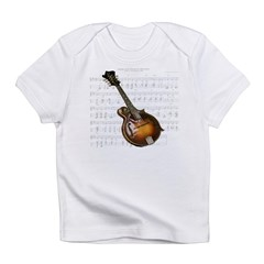 Mandolin and Sweet Music Infant T-Shirt