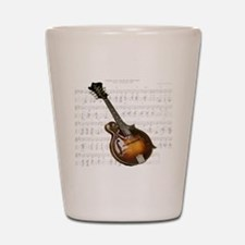 Mandolin and Sweet Music Shot Glass