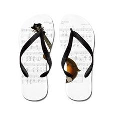 Mandolin and Sweet Music Flip Flops