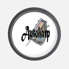 Autoharp Wall Clock