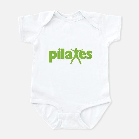 Green Ink Pilates Infant Bodysuit