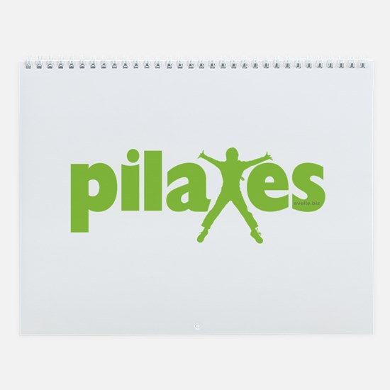 Green Ink Pilates Wall Calendar