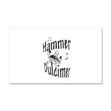 Hammer Dulcimer Car Magnet 20 x 12