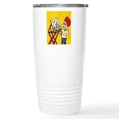 Comic Character Travel Mug