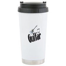 Guitar Travel Coffee Mug
