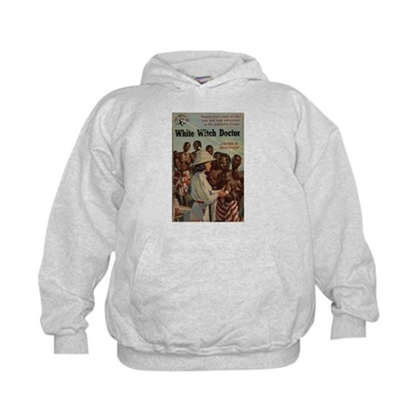 White Witch Doctor Kids Hoodie
