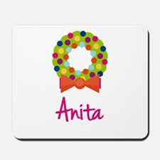 Christmas Wreath Anita Mousepad