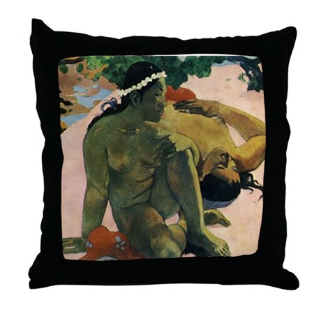 Jealous Throw Pillow
