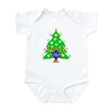 Hanukkah and Christmas Families Infant Bodysuit