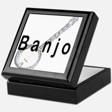 Banjo Keepsake Box