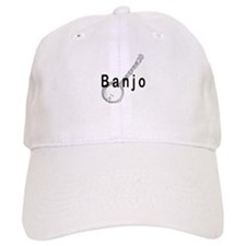 Banjo Baseball Baseball Cap