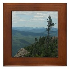 Crane Mountain Summit Framed Tile