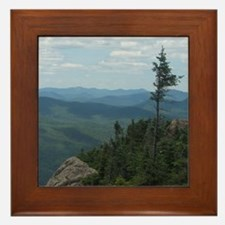 Crane Mountain Summit Framed Tile