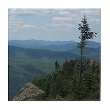 Crane Mountain Summit Tile Coaster