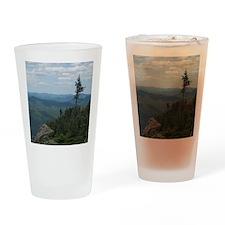 Crane Mountain Summit Drinking Glass