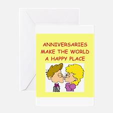 anniversaries Greeting Card