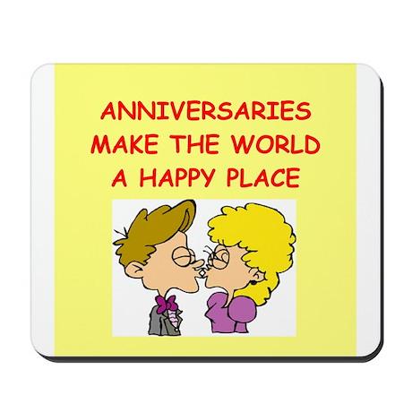 anniversaries Mousepad