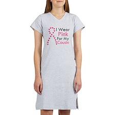I Wear Pink Women's Nightshirt